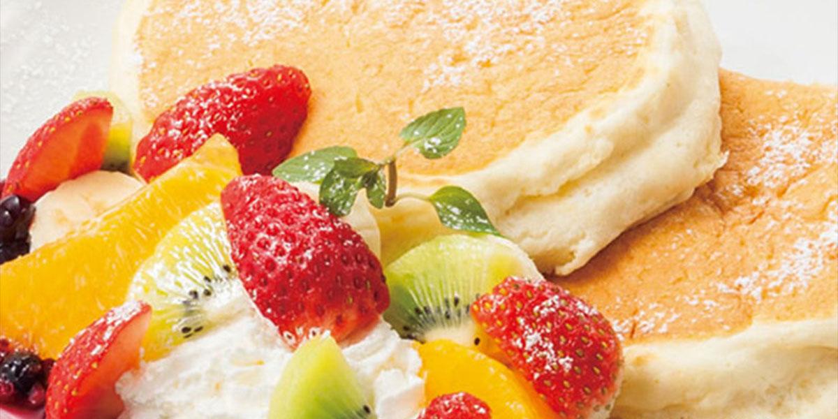 ふわふわなパンケーキ『高倉町珈琲』